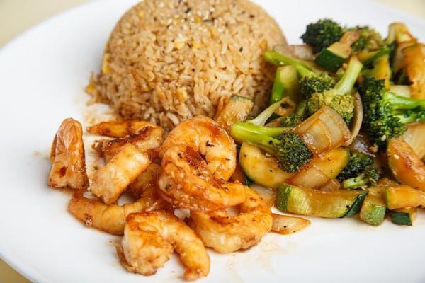 Shrimp Hibachi Dinner