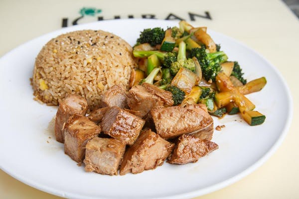 Tuna Hibachi Dinner