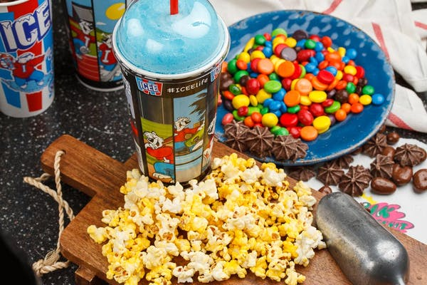 Icee & Buttered Movie Popcorn Special