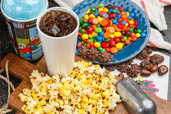 Fountain Drink & Buttered Movie Popcorn Special