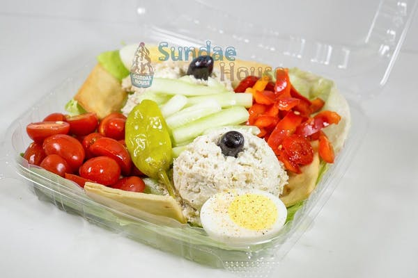Chicken Salad Cold Plate
