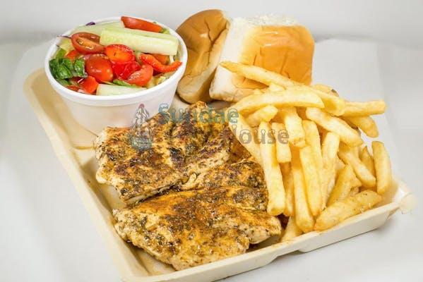 Greek Grilled Chicken Dinner
