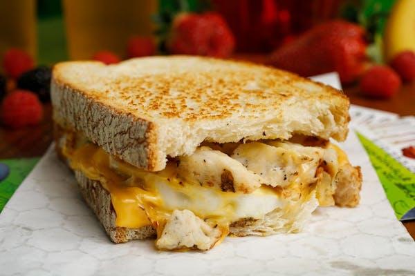 Chicken, Egg & Cheese Sandwich