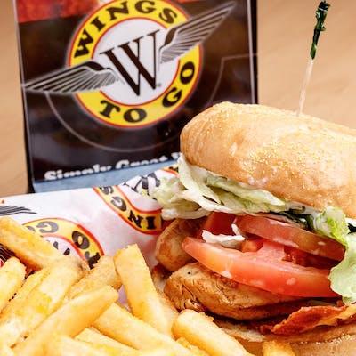 Chicken BLT Sandwich & Fries