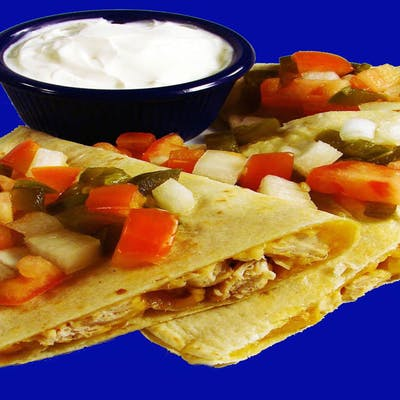 Fiesta Chicken Quesadilla
