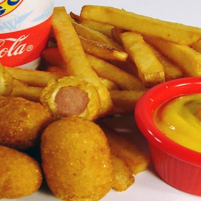 Kid's Mini Corn Dogs Meal