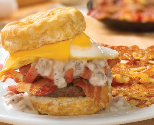 Meat Lover's Biscuit
