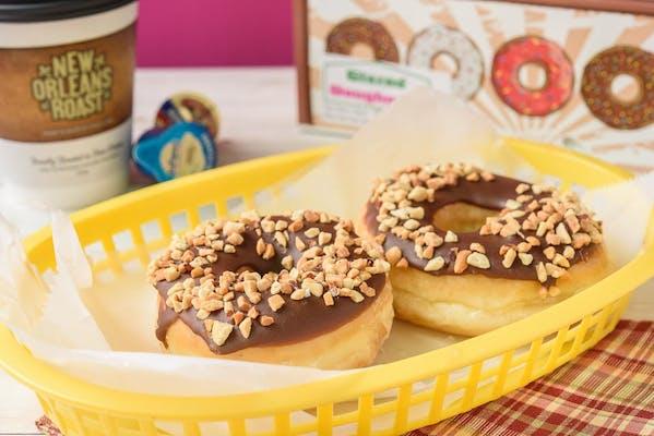 Chocolate Peanut Donut