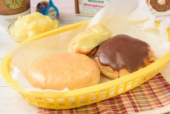 Bavarian Crème Filled Donut