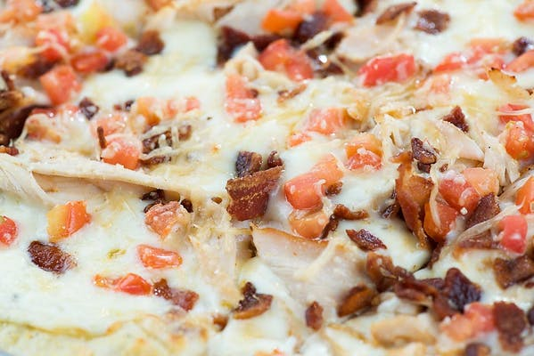 KY Hot Brown Pizza