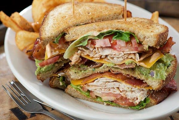 Upper Deck Club Sandwich