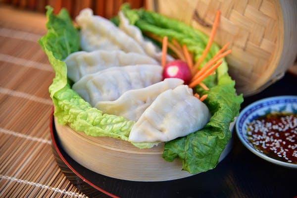 #104 Steamed Veggie Dumplings