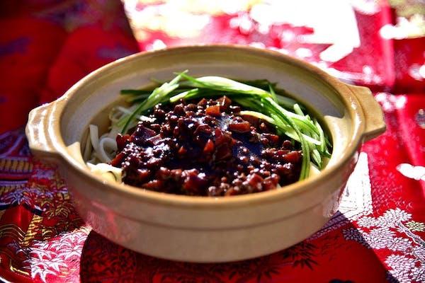 #201 Black Bean Noodles