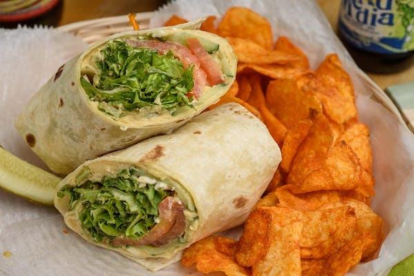 Tomato & Avocado Sandwich