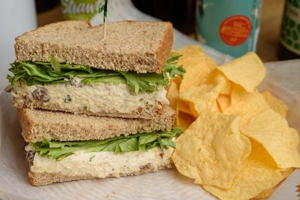 Tarragon & Raisin Chicken Salad Sandwich