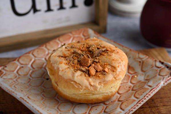 Butterfinger Bismark Donut