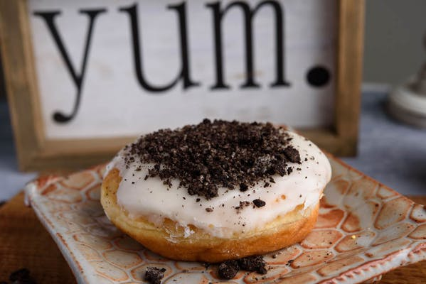 Cookies & Cream Bismark Donut