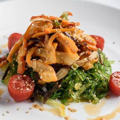Squid & Seaweed Salad