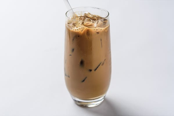 Cold brewed Vietnamese iced coffee
