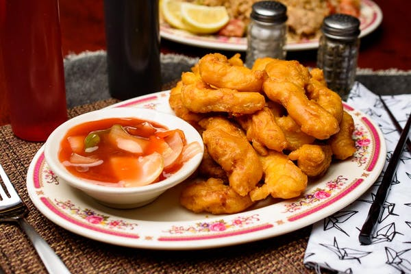 Deep-Fried Sweet & Sour Chicken