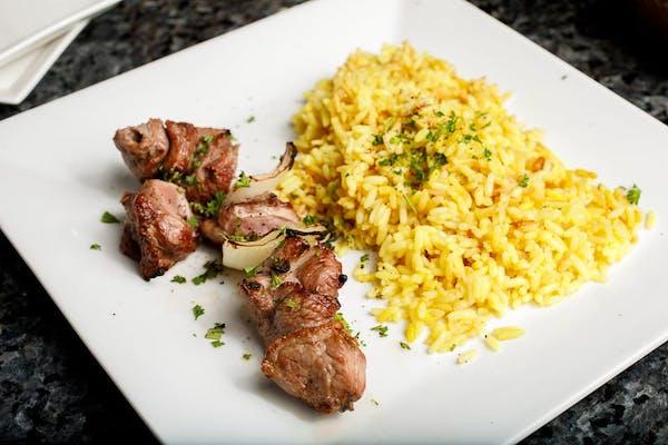 Lunch Lamb Platter