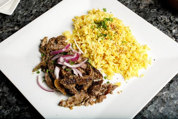 Lunch Chicken Shawarma Platter