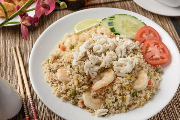 R42-SC. Crab & Shrimp Fried Rice Combo
