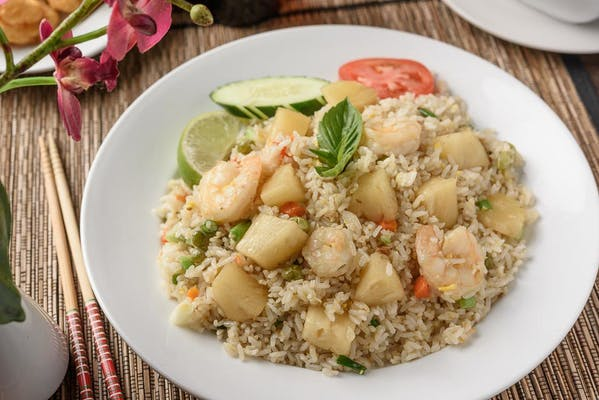 R43-P. Shrimp & Pineapple Fried Rice