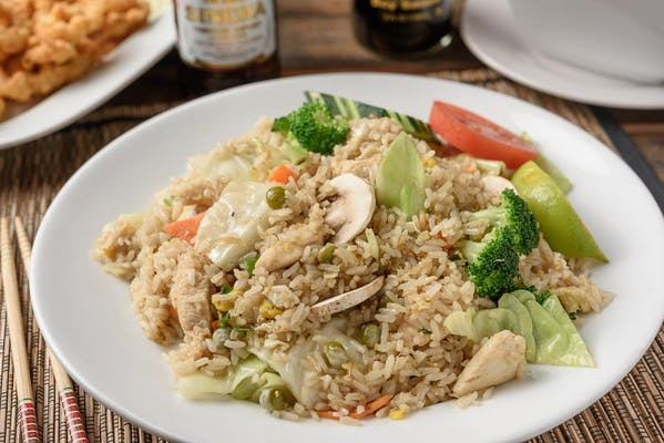 R44. Garden Vegetable Fried Rice