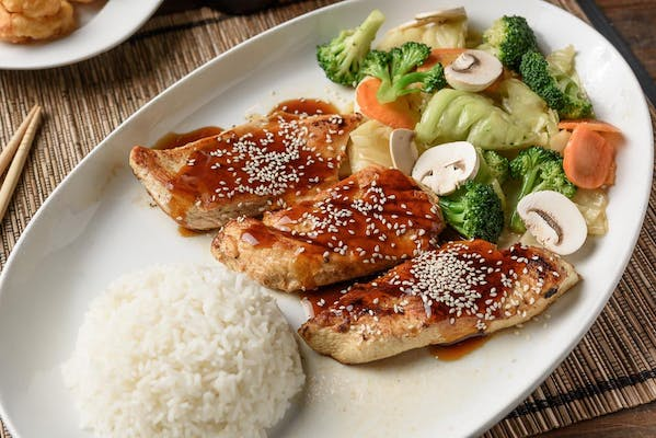 35. Teriyaki Grilled Chicken