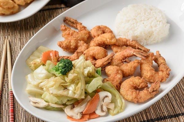 38. Crispy Shrimp Tempura (Gung Taud)