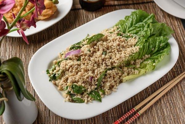 Y15. Basil Salad (Larb Esaan)