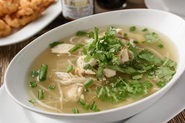 N32. Big Bowl Noodle Soup (Guay Tiew Nam)