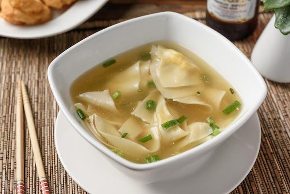 S13. Thai Wonton Soup (Thom Gyoza)
