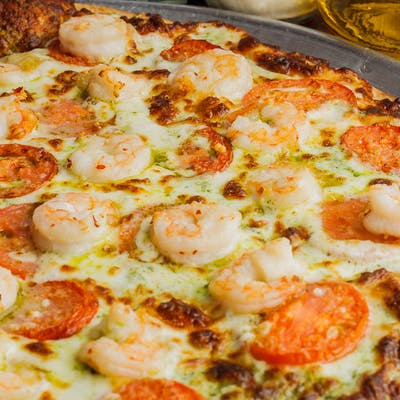 Shrimp Sophia Pizza