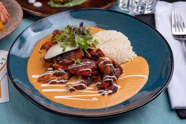 Burrata Butter Chicken