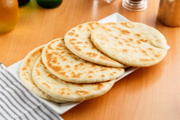 Fresh Garlic Pita Bread