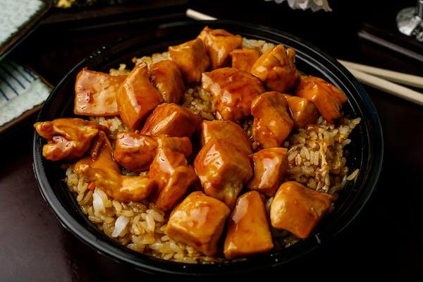 B-3. Teriyaki Chicken Bowl