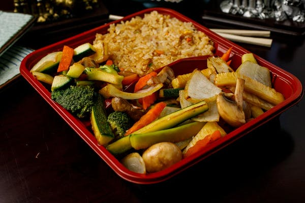 H-1. Vegetable Hibachi