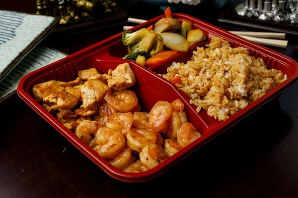 H-7. Chicken & Shrimp Hibachi