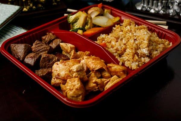 H-8. Chicken & Steak Hibachi