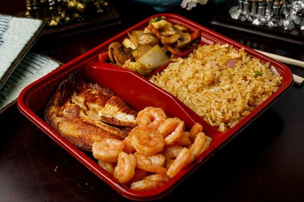 H-12. Tilapia & Shrimp Hibachi
