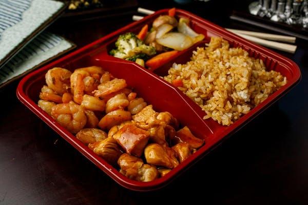 T-2. Teriyaki Chicken & Shrimp
