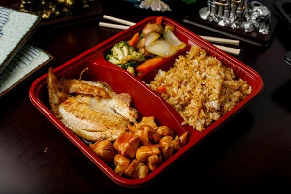 T-4. Teriyaki Chicken & Tilapia