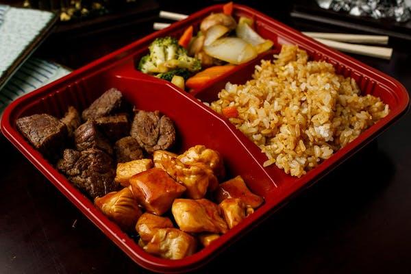 T-5. Teriyaki Chicken & Filet Mignon