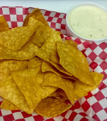 White Cheese Dip & Chips