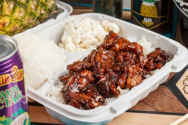 Molokai Chicken Lunch Plate