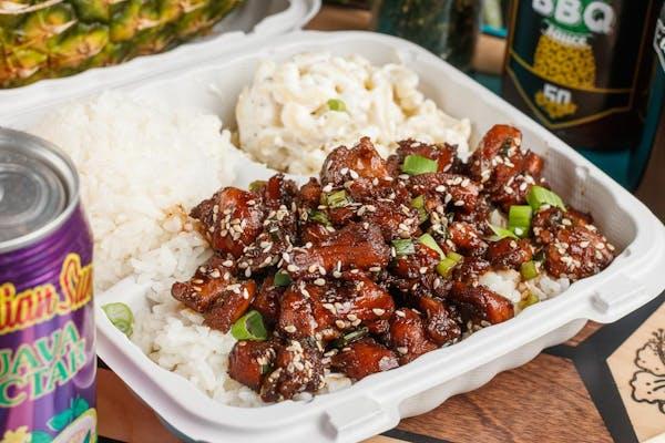 Honolulu Chicken Lunch Plate
