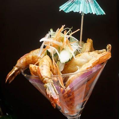 Chicken or Shrimp Satay