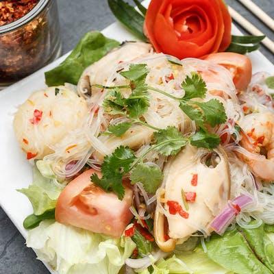 Seafood Glass Noodle Salad